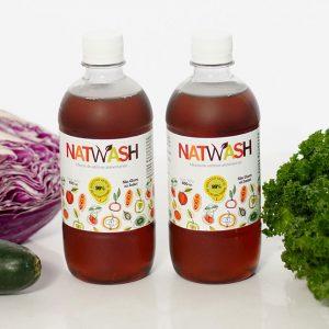 2 botellas natwash