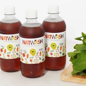 3 botellas natwash